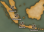 Greater Sunda Islands - Port Map 1 (UW5)