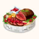 File:Roasted Ezo Deer with Lingonberry Sauce (TMR).png