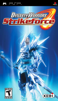 Dynasty Warriors Strikeforce Cover