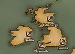 British Isles - Port Map 1 (UW5)