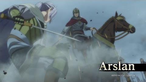Arslan The Warriors of Legend - Arslan Character Highlight