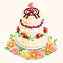 File:1-Year Anniversary Party Cake (TMR).png