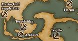 Gulf of Mexico - Port Map 4 (UW5)