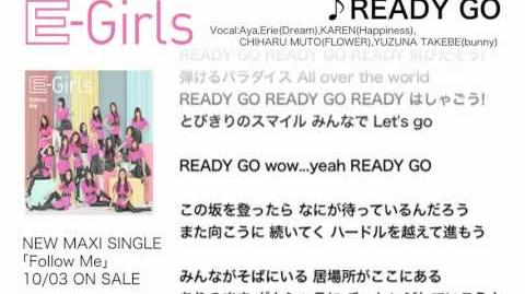E-Girls - READY GO