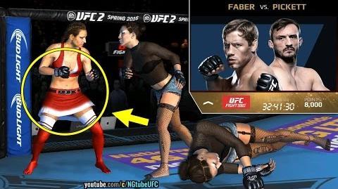 EA UFC mobile (MOD - SANTA costume) Miesha Tate