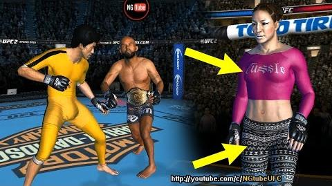 UFC mobile Mcmann (IE) Vs Davis TUF Final Live Event (MOD - leggings, rashguard) UFC모바일