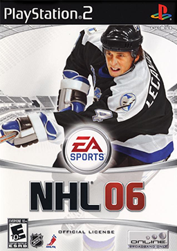 NHL 06 Coverart