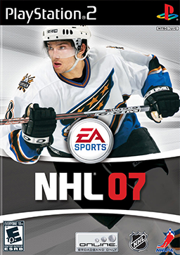 NHL 07 Coverart