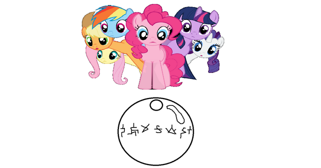 File:The mane 6 and the kry!.png