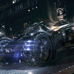 Armored Batmobile, affectionately nicknamed