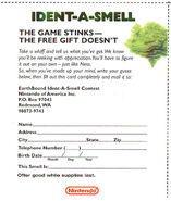 Indet-a-smell card