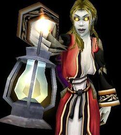 Sannia with Lantern