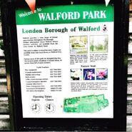 Walford Park Sign (2015)