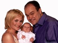 Natalie and Jack and Barry Evans