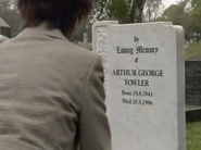 Arthur Fowler Grave (12 June 2007)