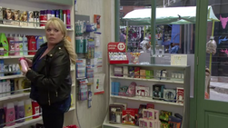 Sharon in the Pharmacy