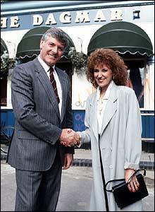 Martin Hunter and Angie Watts