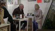 Café, Victoria Road Buster Briggs and Kathy Beale (9 April 2016)