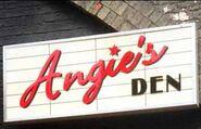 Angies Den Sign