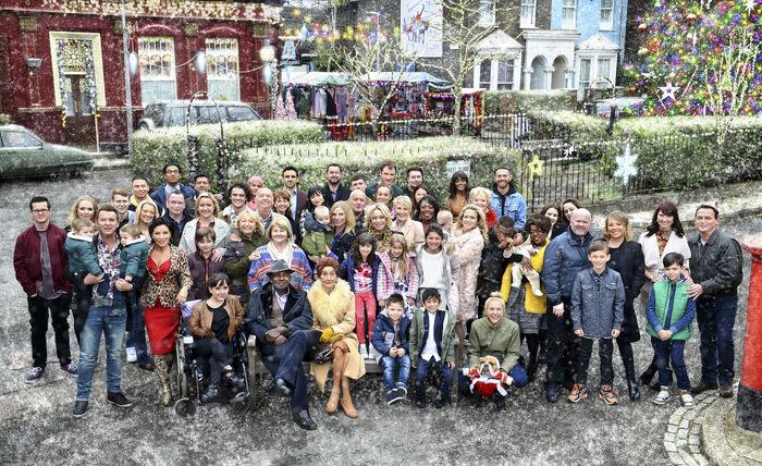 EastEnders Cast (Christmas 2015)