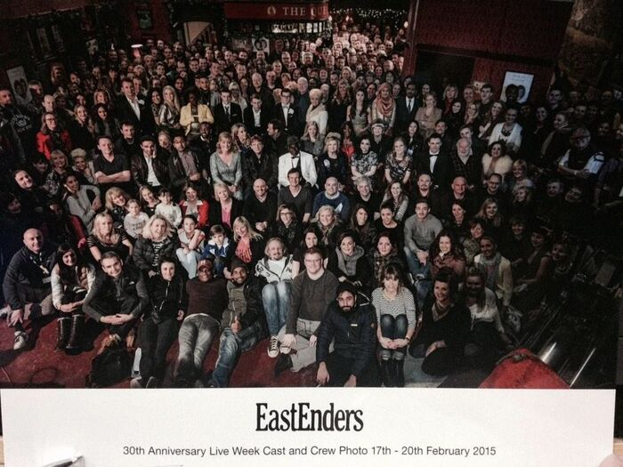 30th Anniversary Live Week Cast and Crew Photo 17th - 20 February 2015