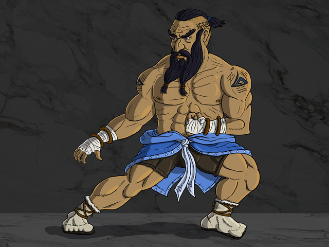 File:Law - Fighting Stance by Alexander Arts.png