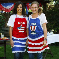 4th of July Apron Holiday Craft Project