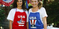Fourth of July Apron Project