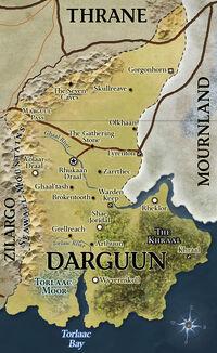 D&D - 4th Edition - Eberron Map Darguun