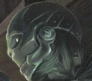 Warforged face
