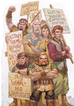 Warforged prejudice