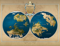 Eberron map