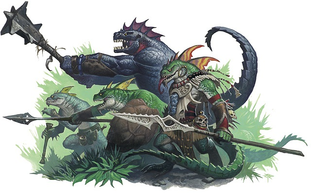 Image result for lizardfolk