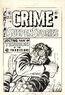 Crime SuspenStories Vol 1 16 Original Cover Art