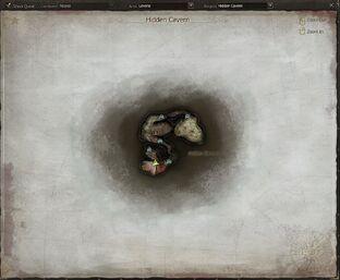 Hidden Cavern-map