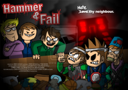 Hammer and fail poster by eddsworld-d42g98k