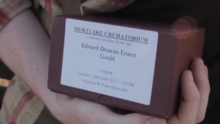 Edd's ashes