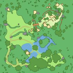 Limestone Mountain blank map