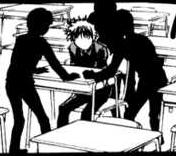 Arita being bullied
