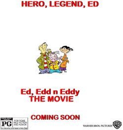 Ed edd n eddy the movie poster