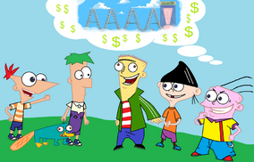 Phineas and ferb meet ed edd n eddy by lordodarkness84