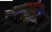 Damaged sniper turret
