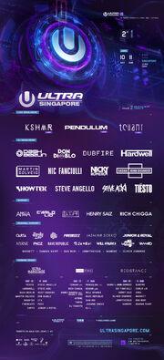 UMF Singapore 2017 Phase 2 Lineup