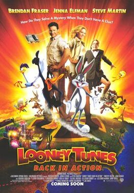 Movie poster looney tunes back in action