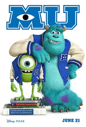 4 Monsters University