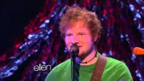 Ed Sheeran Performs Grade 8 at the Ellen Show