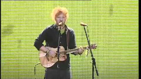 Ed Sheeran - Lego House Live At The 2011 Jingle Bell Ball