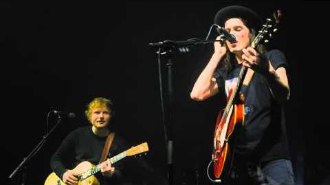 James Bay & Ed Sheeran - Let It Go (Cambridge Corn Exchange)