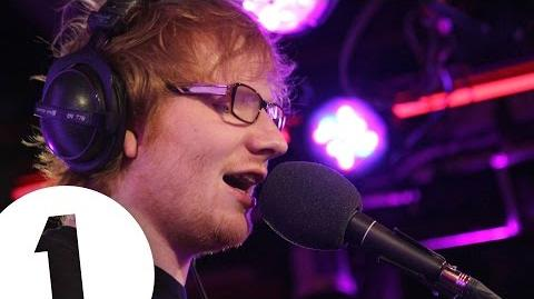 Ed Sheeran covers Christina Aguilera's Dirrty in the Live Lounge