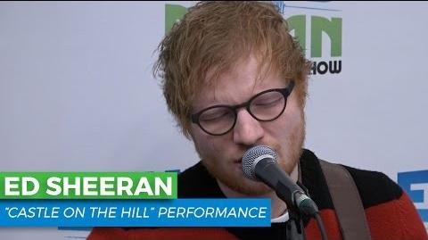 "Ed Sheeran - ""Castle on the Hill"" Acoustic Elvis Duran Live"
